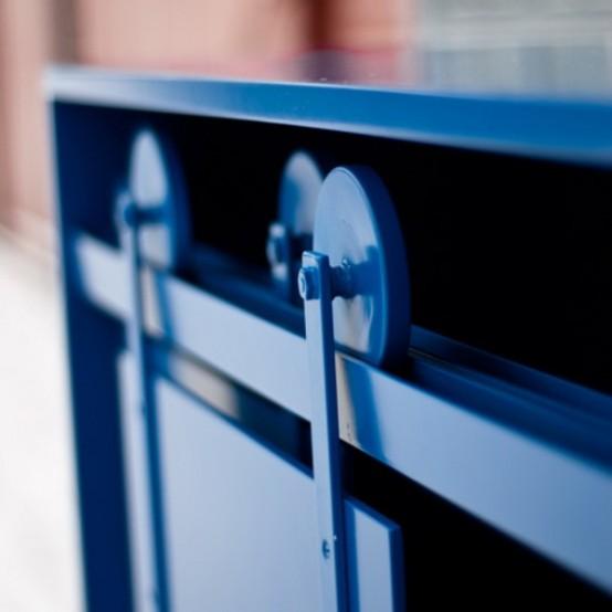 Мебель на колесиках и катушках 5