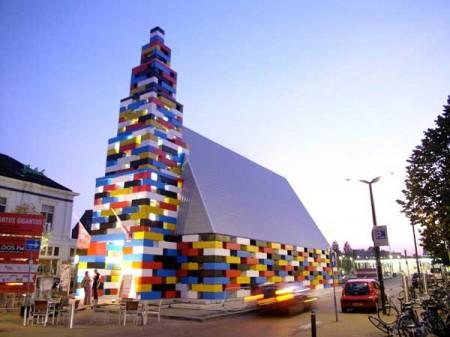 Социальный павильон в Нидерландах