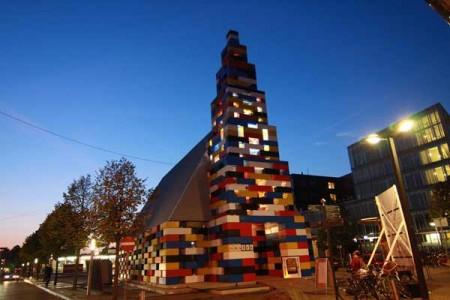 Социальный павильон в Нидерландах 3