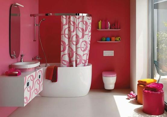 15 ярких идей дизайна ванной комнаты