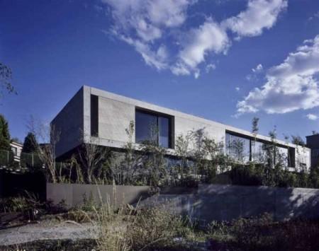 Дом из стекла и бетона в Мексике 2