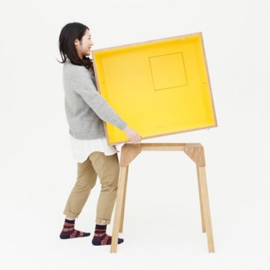 Компактное и переносимое место для работы 5