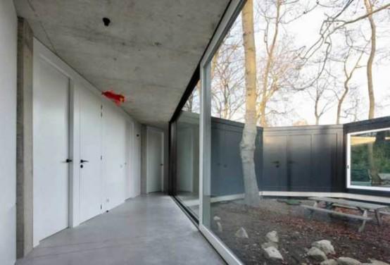 Круглый одноэтажный домик 10