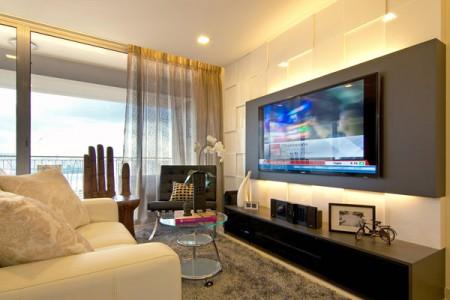 Квартира в Сингапуре: отображени жизни владельцев фото 2