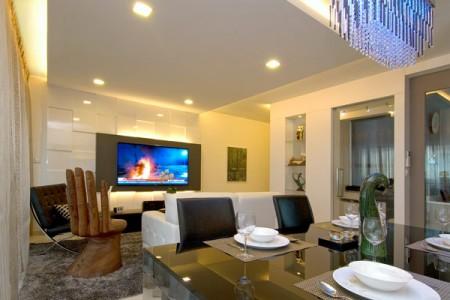 Квартира в Сингапуре: отображени жизни владельцев фото 3