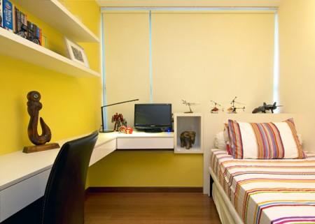 Квартира в Сингапуре: отображени жизни владельцев фото 5