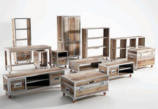 Мебель, которая выглядит как чемодан 1