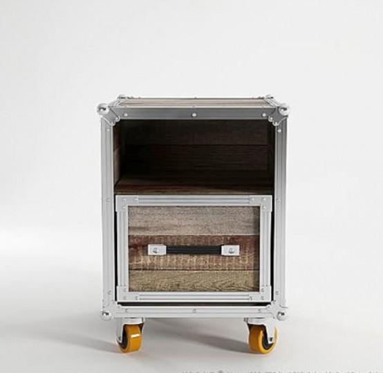 Мебель, которая выглядит как чемодан 5