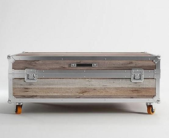 Мебель, которая выглядит как чемодан 6