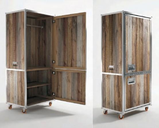 Мебель, которая выглядит как чемодан 7