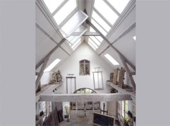 Очаровательный старомодный дом во Франции 3