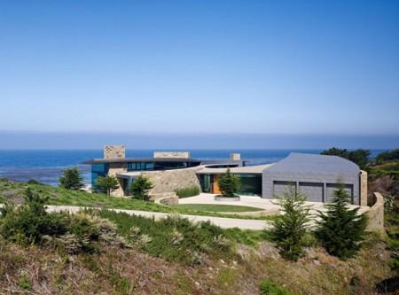 Резиденция с видом на океан в Калифорнии 4