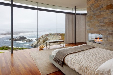 Резиденция с видом на океан в Калифорнии 8