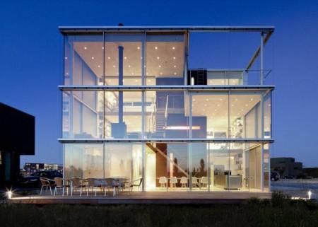 Современный дом на окраине Амстердама 1