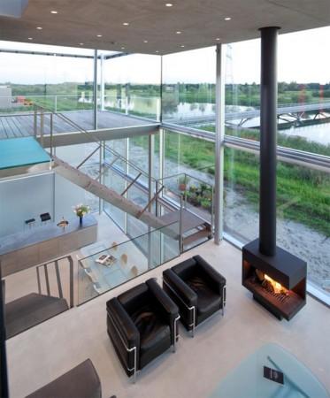 Современный дом на окраине Амстердама 5