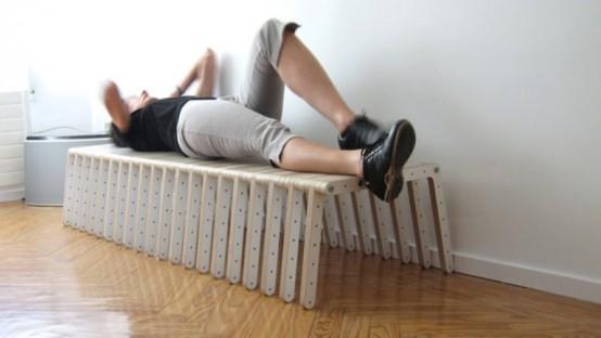 Универсальная система мебели для сидения 4