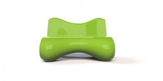Выразительная футуристическая мебель 3
