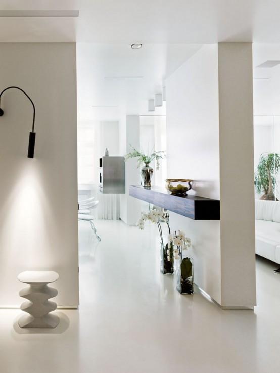 кухня квартиры в стиле минимализм