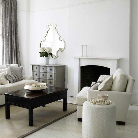 21 гостиная в черно-белом цвете 12