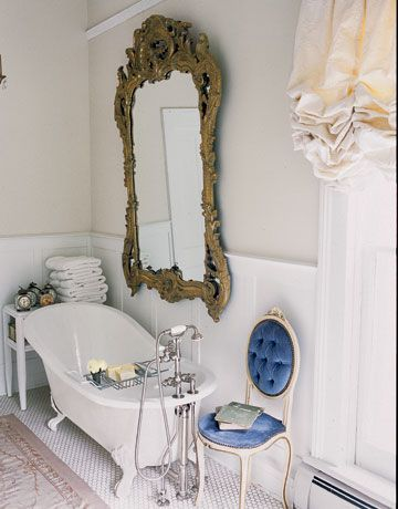 Большое зеркало в доме 18 фото