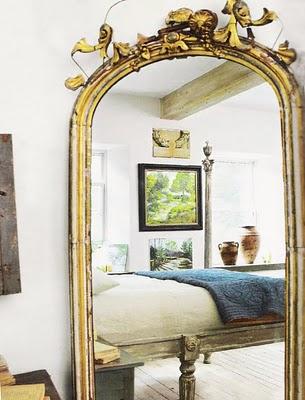 Большое зеркало в доме 20 фото