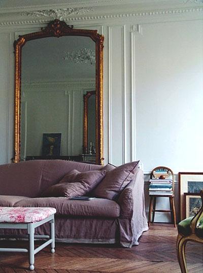 Большое зеркало в доме 3 фото