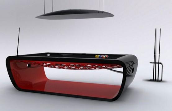 Изысканный, ультрасовременный стол для игры в бильярд 1