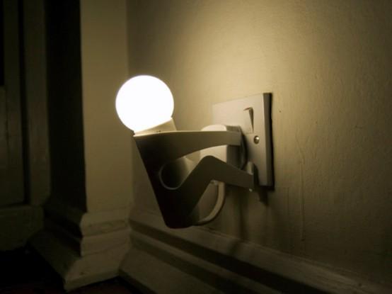 Лампы говорят нужно выключить свет 2