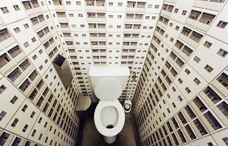 10 красивых и необычных ванных комнат