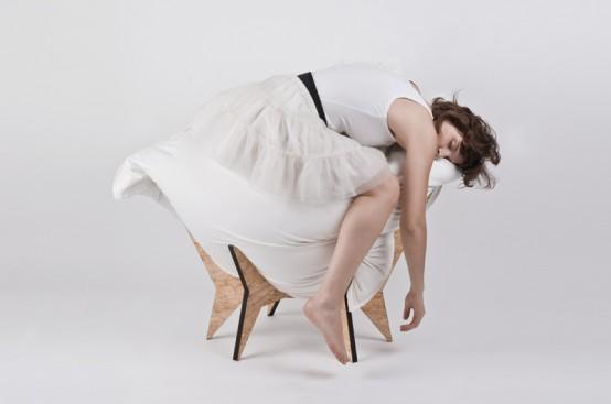 Уникальное мягкое кресло