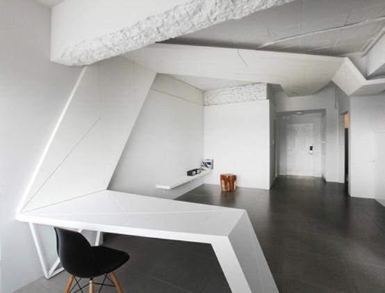 Футуристические апартаменты