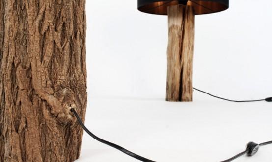 Лампы, напоминающие деревья бонсай