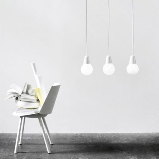 Минималистский подвесной светильник