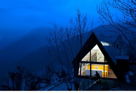 Уютный коттедж в Пиренеях
