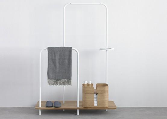 Мебель в интерьере коридора