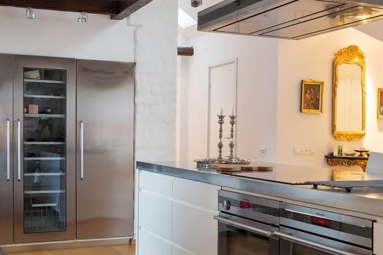 Эклектичные апартаменты в Стокгольме