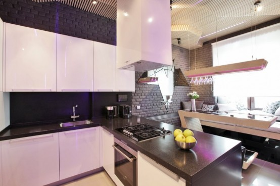 Geometrix Design Studio представляет футуристический дизайн кухни