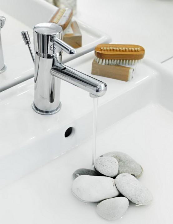 Как может выглядеть роскошная ванная комната, еще один вариант