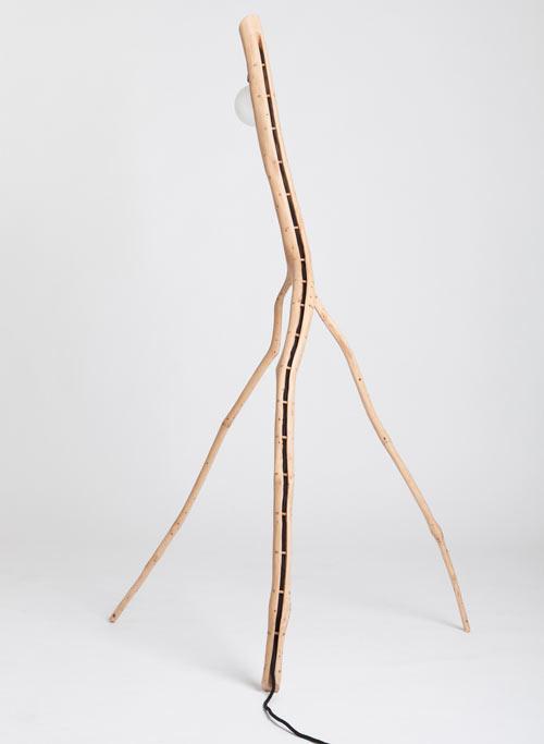 Коллекция ламп из дубовой ветви