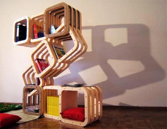 Модульный шкаф для гостиной