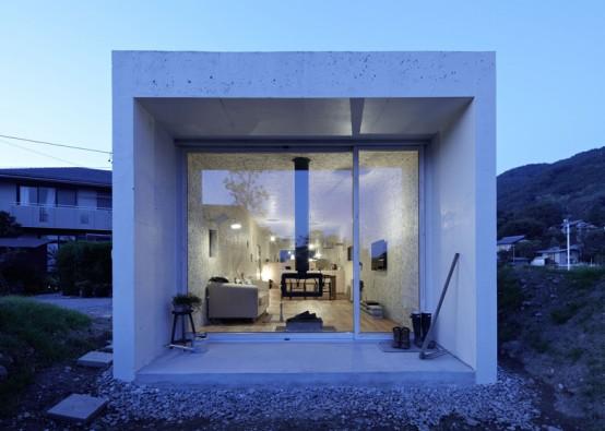 Низкий и длинный: проект дома от Takuya Tsuchida