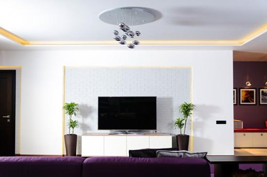 Современная и яркая квартира в Одессе