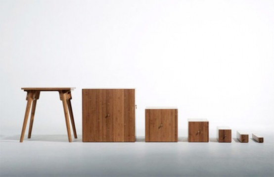 Стильный кабинет от студии дизайна Utopia