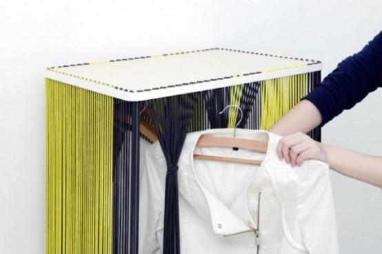 Муаровая коллекция мебели с новым подходом хранения