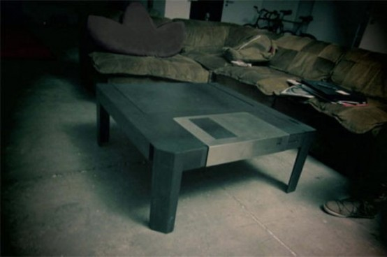 Ностальгический дизайн - Floppy Table