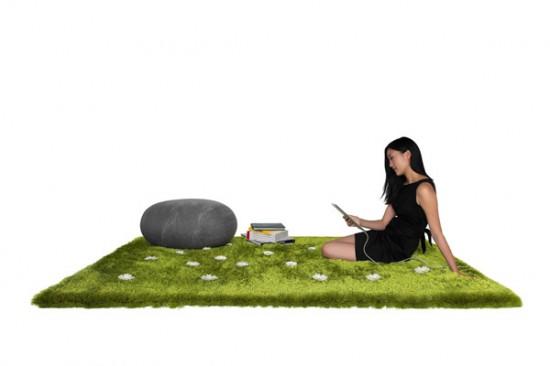 Призываем весну в помещении вместе с The Daisy Garden Interactive Rug