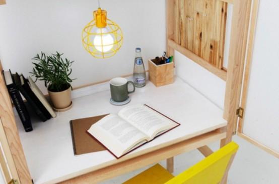 Хороший вариант домашнего офиса