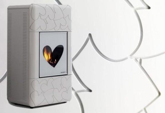 Женский камин, способный привнести романтику в ваше пространство