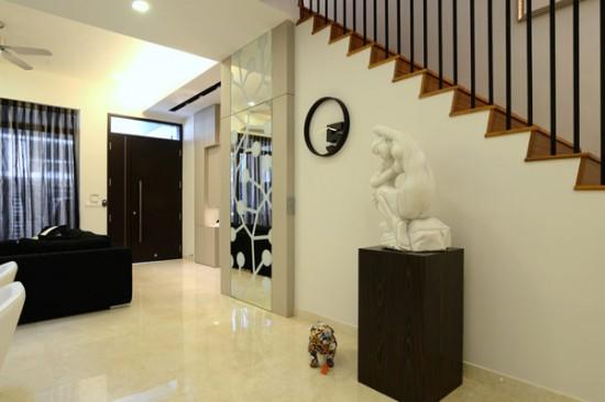 Поразительное бунгало в Сингапуре от компании KNQ Associates.