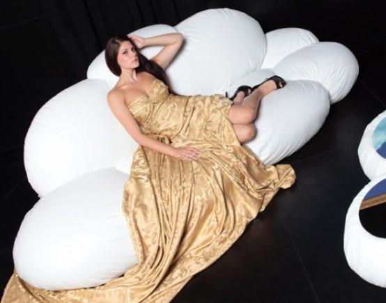 С этим диваном вы почувствуете себя в раю